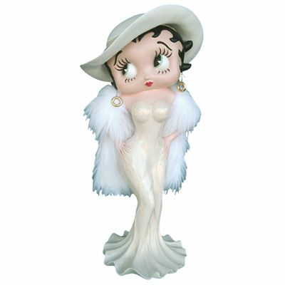 Betty Boop Madam Creme Dress 3ft