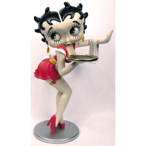 Betty Boop Waitress Red Dress 3ft