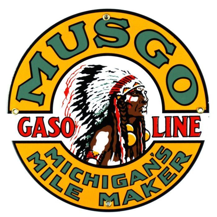 Plaque émaillée Musgo